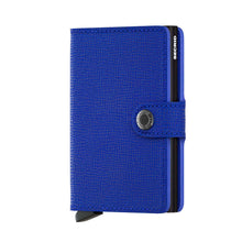 Load image into Gallery viewer, Secrid Mini Crisple Wallet in Cobalt Blue