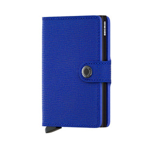 Secrid Mini Crisple Wallet in Cobalt Blue