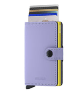 Load image into Gallery viewer, Secrid Mini Matte Wallet in Lilac