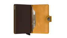 Load image into Gallery viewer, Secrid Mini Vintage Wallet in Ochre