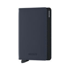 Load image into Gallery viewer, Secrid Slim Matte Wallet in Night Blue