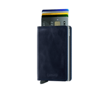 Load image into Gallery viewer, Secrid Slim Vintage Wallet in Blue