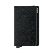 Load image into Gallery viewer, Secrid Slim Vegetable Tanned Wallet in Black