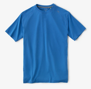 tasc Performance Carrollton Fitness T-Shirt in Olympic Blue