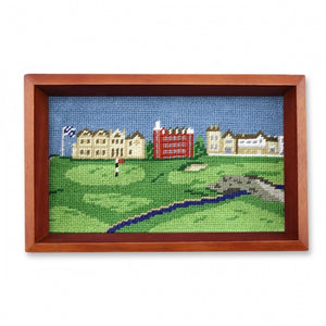 Smathers & Branson St. Andrews Needlepoint Valet Tray