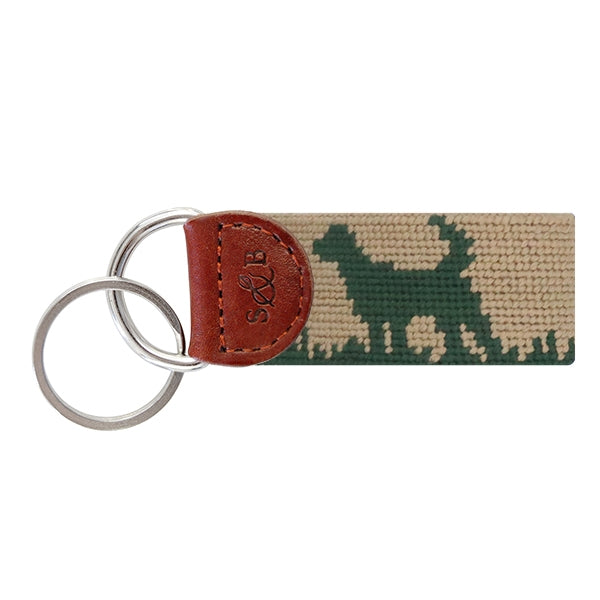 Smathers & Branson Hunting Dog Needlepoint Key Fob