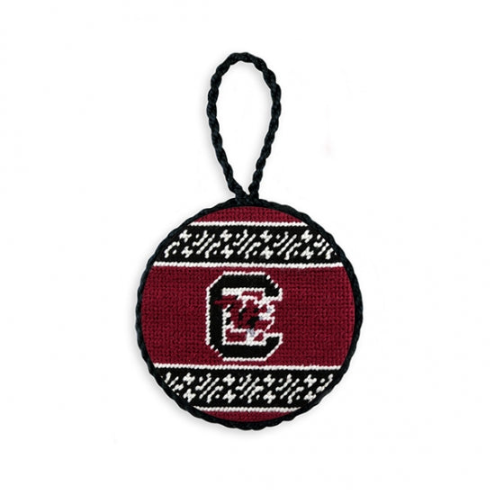 Smathers & Branson South Carolina Needlepoint Ornament