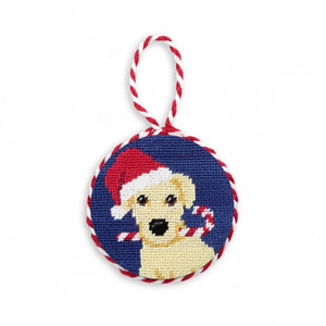 Smathers & Branson Yellow Lab Needlepoint Ornament