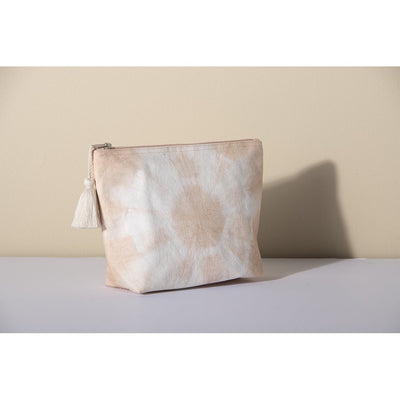 Shiraleah Light Pink Peach Tie Dye Rain Pouch at Katie Diamond Ridgewood NJ