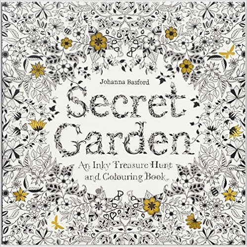 Secret Garden: An Inky Treasure & Coloring Book