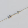 CUPID'S DIAMOND ARROW BRACELET - katie diamond jewelry