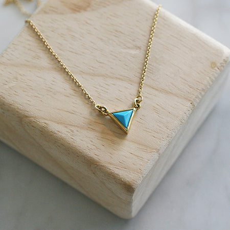 ONE OF A KIND DIAMOND SLICE NECKLACE