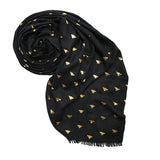 THE BEES KNEES SCARF - BLACK