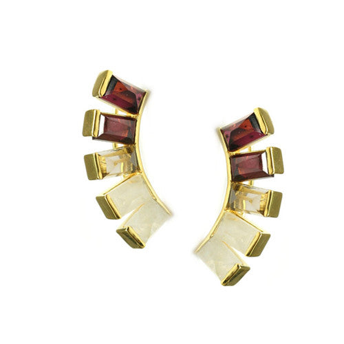 BELINDA EAR CLIMBERS - katie diamond jewelry