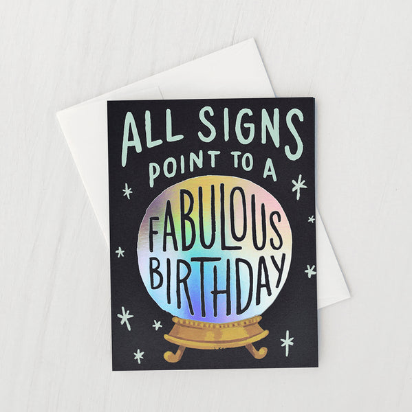 BIRTHDAY FORTUNE CARD - katie diamond jewelry
