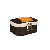 ZOE NYLON & LEATHER JEWELRY CASE