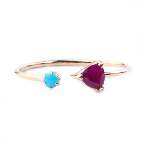 KITE TOPAZ RING