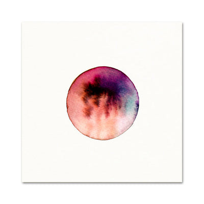 CELESTIAL OUTERSPACE WATERCOLOR PRINT - katie diamond jewelry