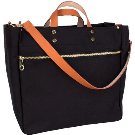 SLOANE LEATHER TOTE