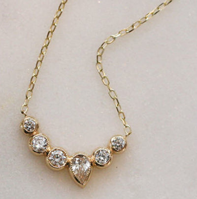 CHARLOTTE NECKLACE - katie diamond jewelry