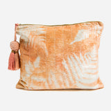 COPPER FERN OVERSIZED POUCH