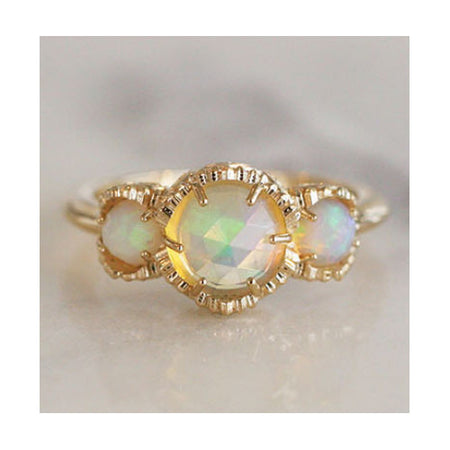 REFLECTION MOONSTONE RING