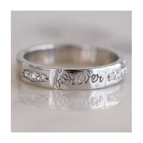 FOREVER RING - katie diamond jewelry