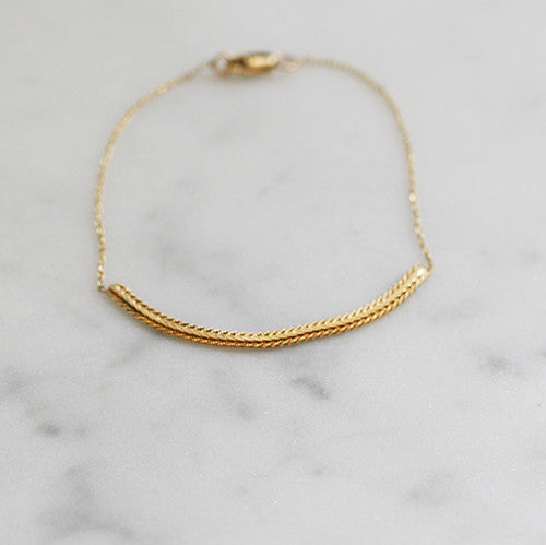 GOLD CHAIN BRACELET - katie diamond jewelry