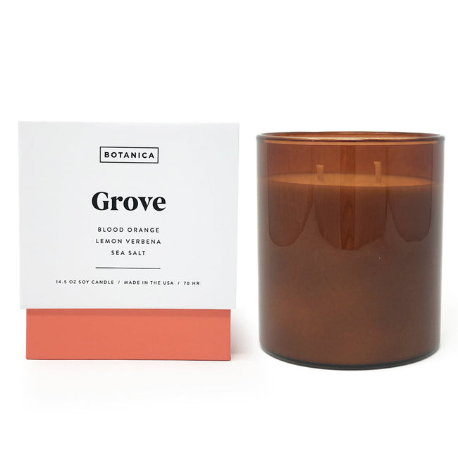 Botanica Grove Soy Candle at Katie Diamond in Ridgewood NJ