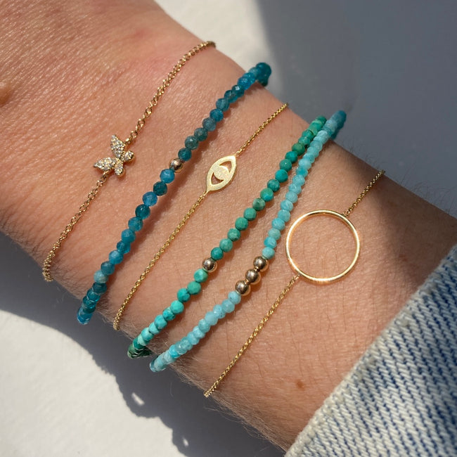 EVIL EYE CUT OUT BRACELET