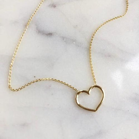 LOVE SCRIPT DIAMOND NECKLACE