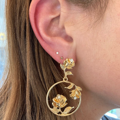 ROSE GARDEN EARRINGS