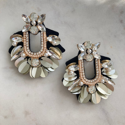 PEPLUM EARRINGS