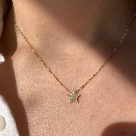 PASHA DIAMOND STATION NECKLACE