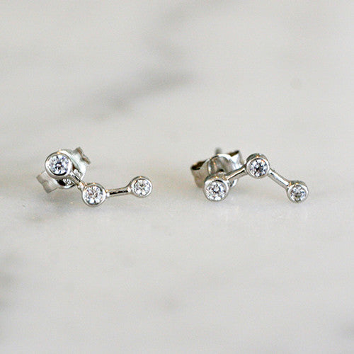 CONSTELLATION STUDS - katie diamond jewelry