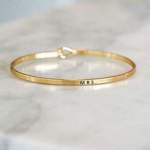 QUOTE BANGLE - katie diamond jewelry