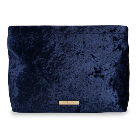CELESTIAL SKIES EMBROIDERED MEDIUM VELVET POUCH