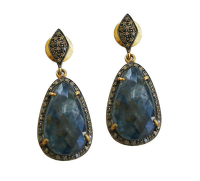 INDIAN KYANITE EARRINGS