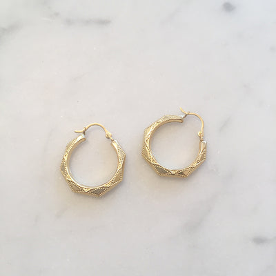 LARGE GAIA HOOPS