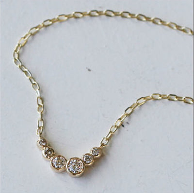 LIVI NECKLACE - katie diamond jewelry