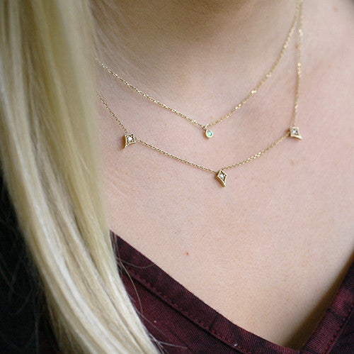 ATHENA NECKLACE - katie diamond jewelry
