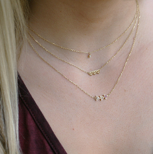 INA DIAMOND NECKLACE