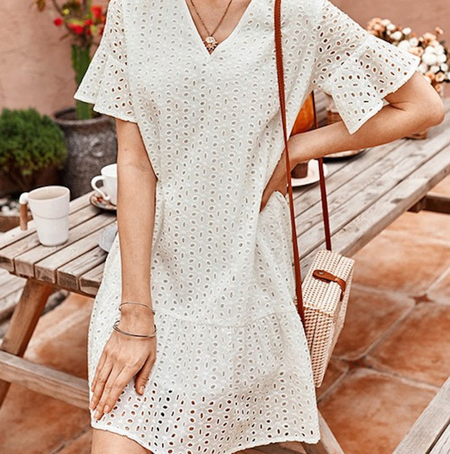 LIGHT HEART MINI DRESS