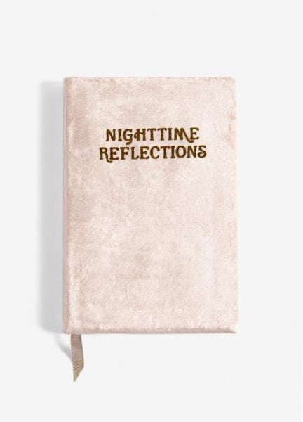 NIGHTTIME REFLECTIONS - VELVET MINDFULNESS JOURNAL