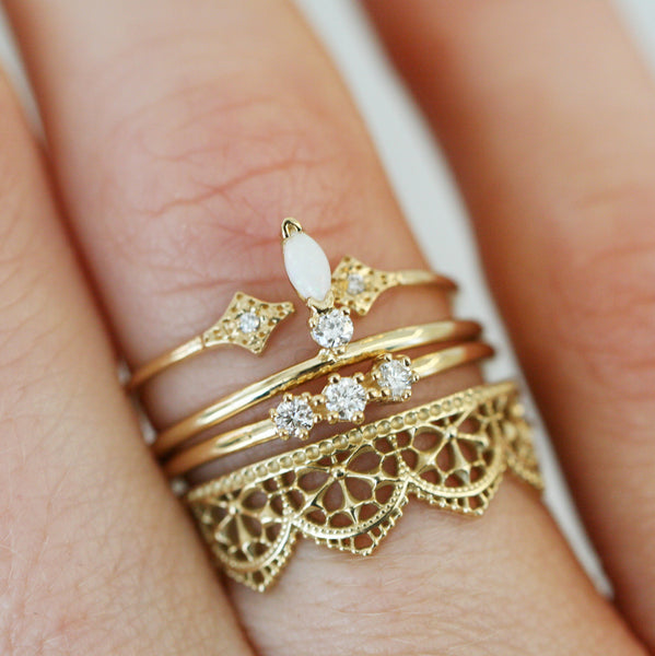 ILA RING - katie diamond jewelry