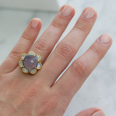 SUTRA RING - katie diamond jewelry