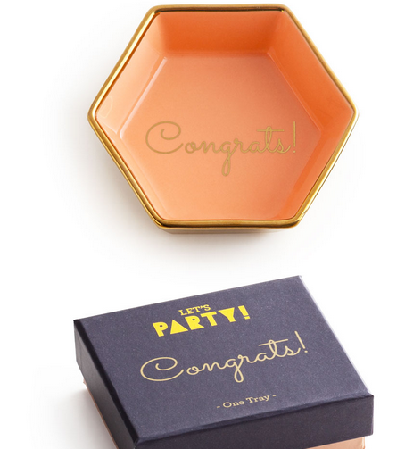 LET'S PARTY CONGRATS! DISH
