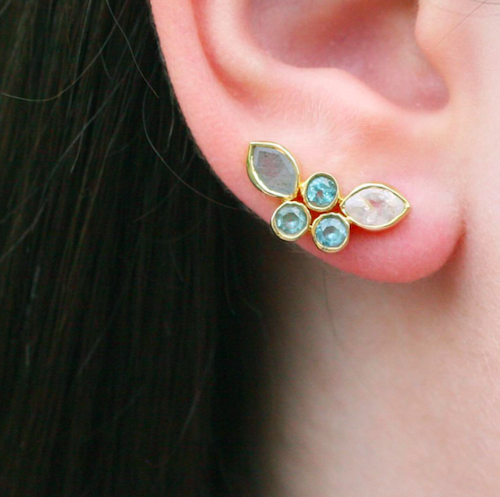 MARGIE EAR CLIMBERS - katie diamond jewelry