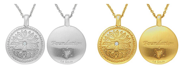 FOUNDATION DISC NECKLACE