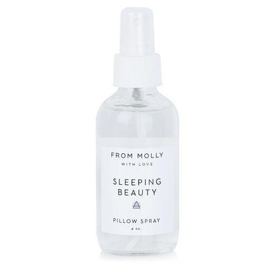 From Molly Sleeping Beauty Pillow Spray at Katie Diamond in Ridgewood NJ